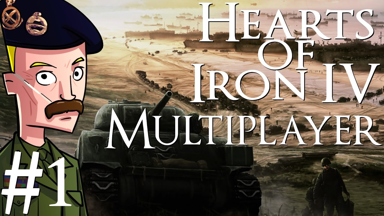 Hearts of Iron 4 | Multiplayer | Part 1