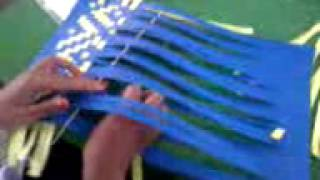 Cara Cepat Membuat ANyaman Dengan Menggunakan Bahan Kertas
