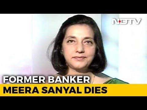 Meera Sanyal, Banker-Turned-Politician, Dies At 57