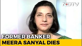 Meera Sanyal, Banker-Turned-Politician, Dies At 57