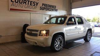 2012 Chevrolet Avalanche | LTZ | White Diamond Pearl | Courtesy Chrysler