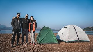 Lakeside Camping at Bhandardara!