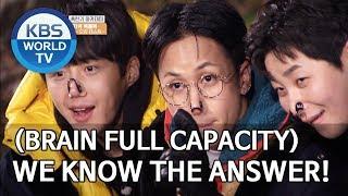 (Brain full capacity) We know the answer! [2 Days & 1 Night Season 4/ENG/2020.01.05]