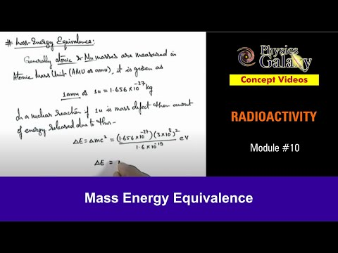 10. Physics | Nuclear Stability | Mass Energy Equivalence | by Ashish Arora
