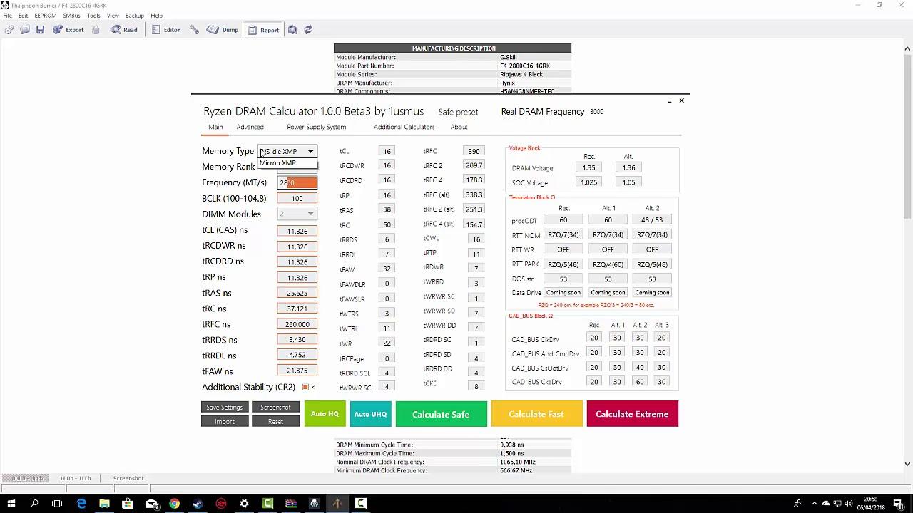 Tutorial para usar o Ryzen DRAM Calculator (Overclock de memória RAM