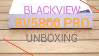 Blackview BV5800 Pro Smartphone 5.5 inch Unboxing - Hands on review and price