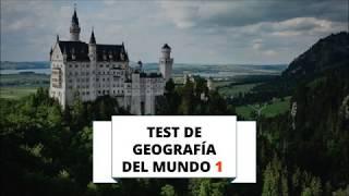 TEST DE GEOGRAFÍA MUNDIAL 1