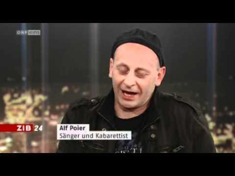 Alf Poier ZIB - ORF