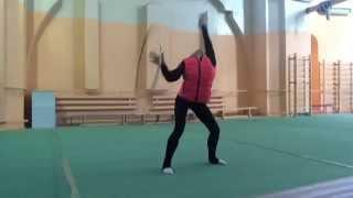 Упражнение Алины Кабаевой!!!)))