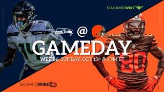 Week 6: Browns (2-3) vs Seahawks (4-1) LIVE REACTION!!!!