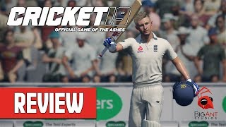 Cricket 19 REVIEW (Official Game of the Ashes)