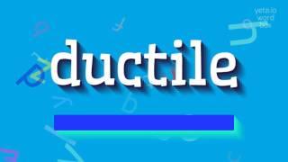 Download lagu How to sayductile MP3