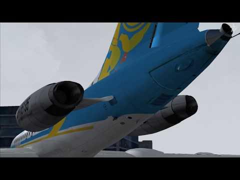 ✈ Tupolev Tu-134 Air Ukraine Flight: KEF - SFJ