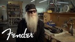 Dusty Hill on his Fender Custom Shop Signature Precision Bass | Fender Custom Shop | Fender