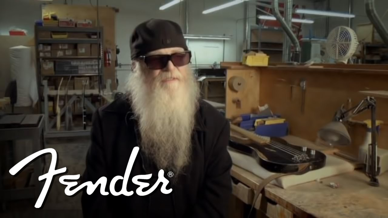 ce276665 Dusty Hill on his Fender Custom Shop Signature Precision Bass | Fender  Custom Shop | Fender