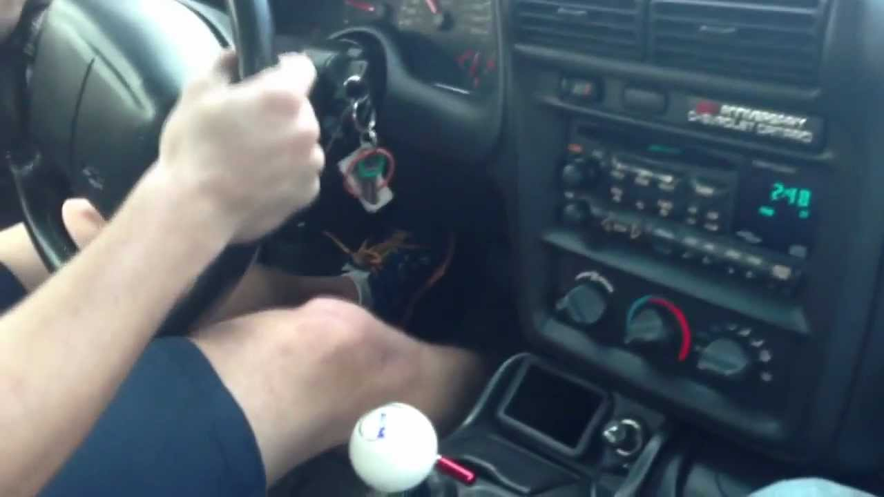 2002 Camaro Z28 B Amp M Ratchet Shifter Youtube