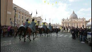 Una granja en el Vaticano por el día de San Antonio Abad