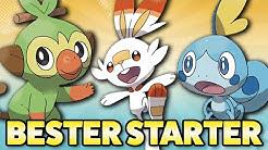 🔥 Bester Starter in Pokemon Schwert und Schild 🌿 / Wer ist das stärkste Starter Pokemon? 🌊