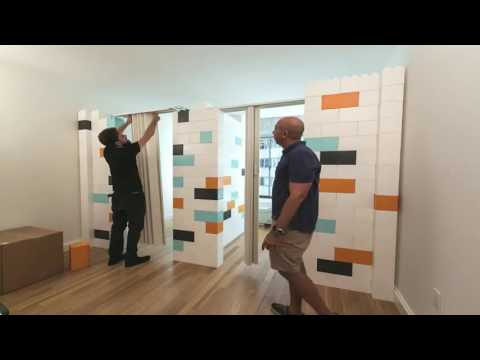 Everblock modular divider wall for your property youtube for Everblock systems