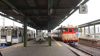 リバイバルトレイン 急行九十九島号  /松浦鉄道 伊万里駅  2019年8月24日