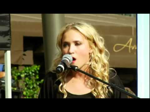 Drift - Emily Osment | First Live Performance at Americana - ABC FAMILY // CYBERBULLY
