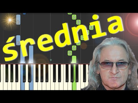 🎹 Niepokonani (Perfect) - Piano Tutorial (średnia wersja) 🎹