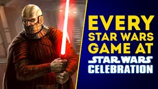 EVERY Star Wars Game Coming To Star Wars Celebration 2019! (New Star Wars Games 2019)