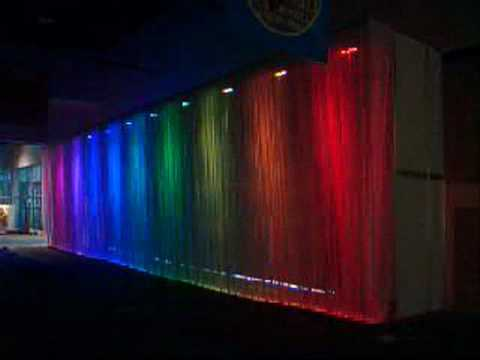 LED Wall Washer RGB - YouTube