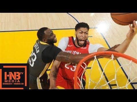 Golden State Warriors vs New Orleans Pelicans Full Game Highlights / April 7 / 2017 -18 NBA Season