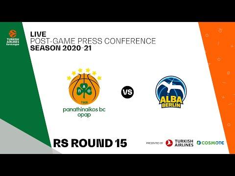 Panathinaikos BC OPAP - ALBA Berlin | Post-Game Press Conference
