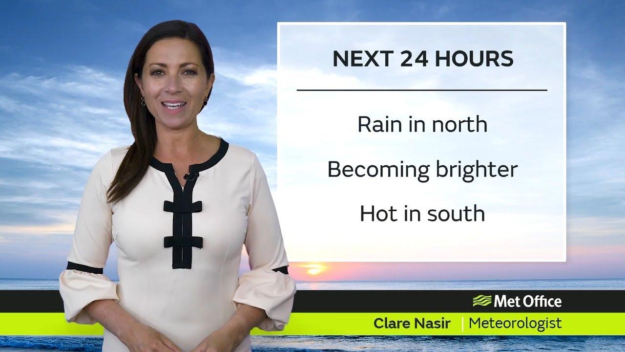 Wednesday morning forecast 16/06/21