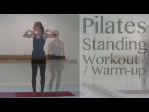 Pilates Standing Workout / Warm-up with Laura Firth