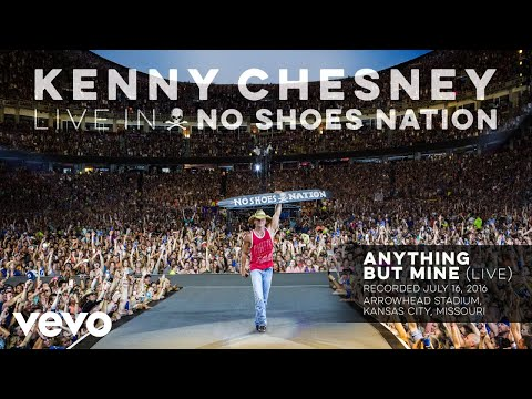 Kenny Chesney - Anything but Mine (Live) (Audio)