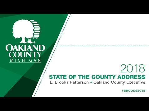 2018 Oakland County State of the County