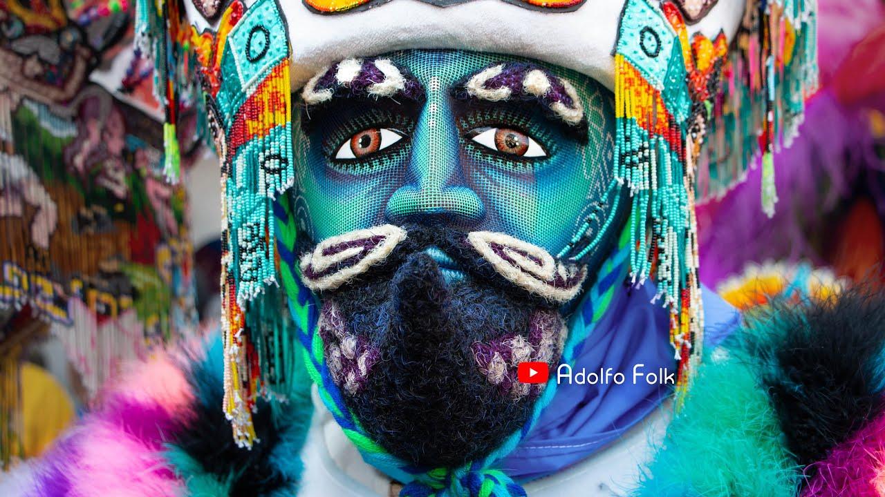 Chinelos de Yautepec   Desfile de Carnaval 2020