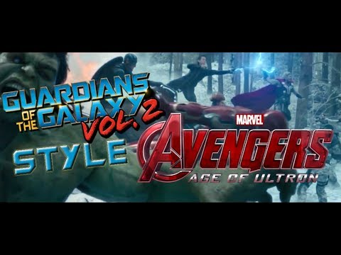 AVENGERS 2 AGE OF ULTRON (INTRO) /[GUARDIANS OF THE GALAXY VOL 2 STYLE]