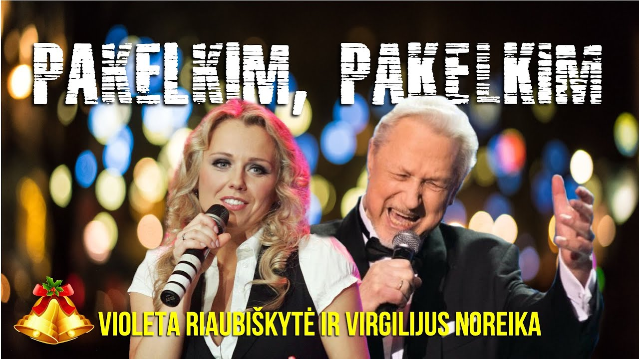 Riaubiškytė ir Noreika – Užstalės Daina (Pakelkim, Pakelkim). Lietuviškos Dainos