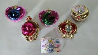 Sailor Moon Compact Mirror Stick and Rod Arrange Japanese Capsule Toy Gashapon