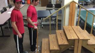 Skill 36 Gait, Stairs, Curbs, and Stand to Sit with Cane