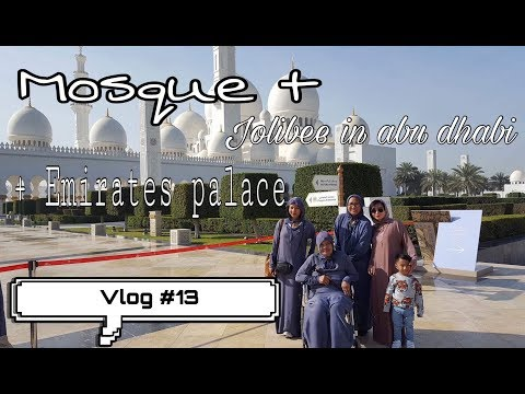 Mosque + jolibee in abu dhabi + emirates palace! Vlog #13 ⭐️ #PARIStravelsPh