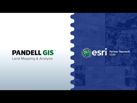 Esri-integrated land mapping & analysis software product tour: Pandell GIS