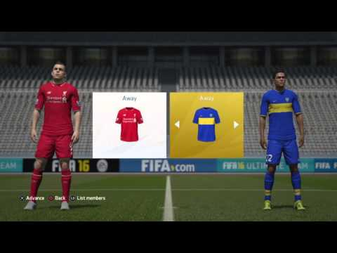 FIFA 16 Goal Of The Week Entry