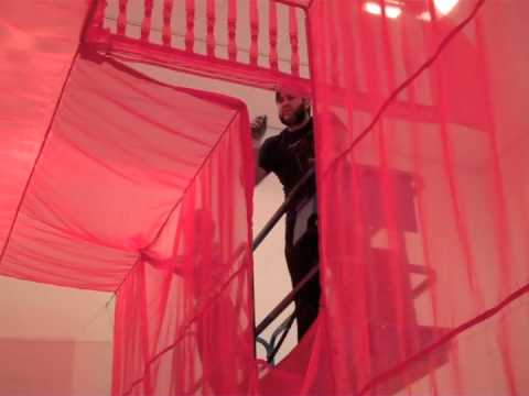 Installing Do Ho Suh's Staircase