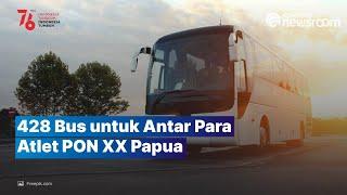 Kemenhub Kirim 428 Bus untuk Dukung PON XX Papua