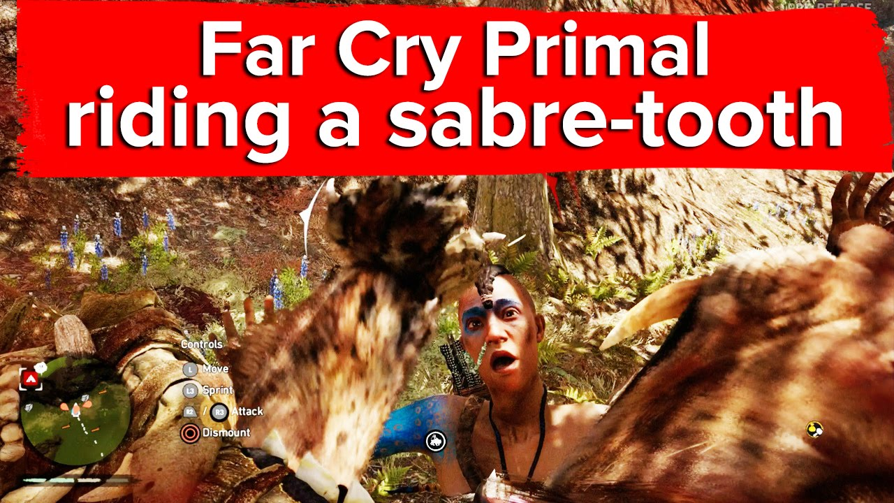 Far Cry Primal Uses Far Cry 4 S Map Layout Eurogamer Net