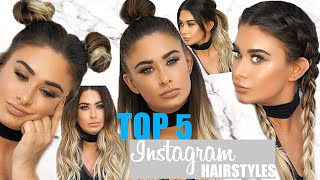 TOP 5 Instagram hairstyles tutorial - Beautyworks x Jen Atkin extensions