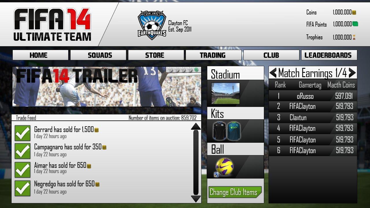 Release date fifa 14 web app