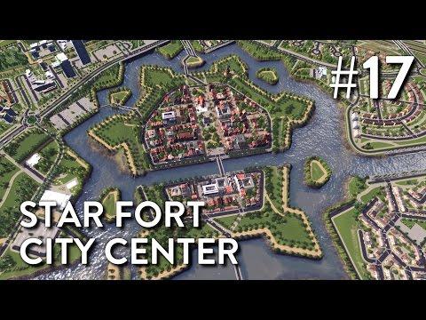 Cities Skylines: Dutch City - Episode 17 - Star Fort City Center