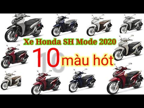 Xe HonDa SH Mode 2020 với 10 màu hót
