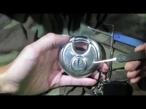 Abus Diskus 26/70 - Lock Picking